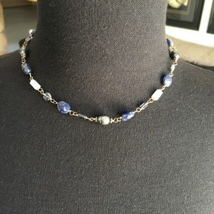 Silpada semi precious stone sterling necklace